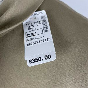 Jos. A. Bank Suits & Blazers - NEW Jos A Bank Spring Weight Sport Coat 52R Beige